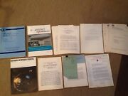 Vintage Nasa Internal Documents And Reports From 50s-70sandnbsp