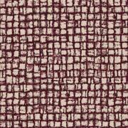 Rubelli Wool Small Square Upholstery Fabric- Ingrid / Bordeaux 21 Yd 30120-008