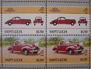 1939 Buick Century Car 50-stamp Sheet / Auto 100 Leaders Of The World