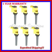 6pc Jmd269y High Performance Ignition Coil Fd502 For Ford Mazda Mercury 3.0l V6