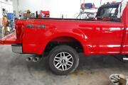 2017 2018 2019 Ford F250 F350 8' Foot Truck Bed Box Aluminum Red [paint Code Pq]
