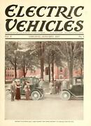 43 Issues Electric Vehicles Magazine Antique Classic Old Cars 1913-1917 Dvd