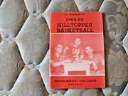 1964-65 Western Kentucky Basketball Media Guide Yearbook Clem Haskins 1965 Ad