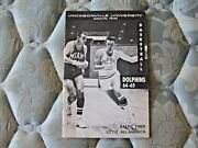 1964-65 Jacksonville Dolphins Basketball Media Guide Yearbook Ralph Tiner 1965