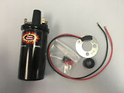 Fits Massey Ferguson 25 50 To35 Tractor Hot Coil Electronic Ignition Kit 1142
