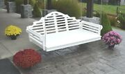 Poly Lumber Wood 6 Ft Marlboro Swing Bed- Multiple Color Options- Made In Usa