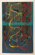 Jose Luis Rochet Abstract Print Original Serigraph One Of A Kind Puerto Rico 66