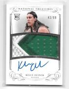2013-14 Kelly Olynyk National Treasures Rookie Patch Auto D 43/99 T272