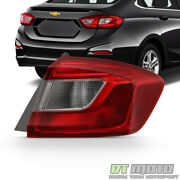 2016-2019 Chevy Cruze Sedan Outer Tail Light Lamp Replacement Rh Passenger Side