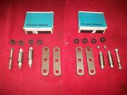 1934 - 51 Chevy Gmc Truck Nos Rear Spring Shackle Kits In Gm Boxes Pair 603588