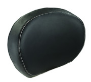 Indian Motorcycle Black Leather Passenger Backrest Pad For 2014-2021 Chieftain