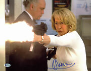 Helen Mirren Red Authentic Signed 11x14 Photo Autographed Bas D78189