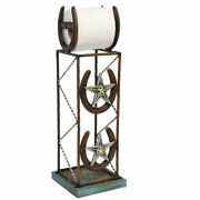 Horseshoe Toilet Paper Stand And Toilet Paper Holder