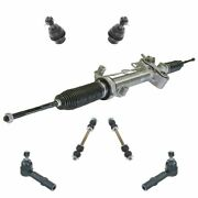 7 Piece Steering And Suspension Kit Rack And Pinion Ball Joints Sway Bar End Links