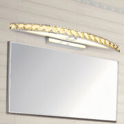 Led Smd Wall Sconce Lamp Crystal Makeup Mirror Front Light Fixture Bathroom Shop