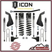 Icon 4.5 Suspension System Stage 1 For 08-10 Ford Super Duty F250 And F350