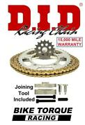 Ducati 1198 / 1198s 09-11 Did Extreme Chain And Sprocket Kit + Tool