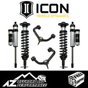 Icon 0-2.63 Suspension System Stage 3 Tubular Uca For 2014 Ford F150 4wd