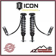 Icon Front Remote Reservoir Coil Over Shock Kit W/ Cdcv For 2014 Ford F150 2wd