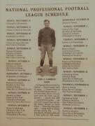 1935 Green Bay Packers, Wadhams Oil Sports Report Yearbook And Schedule