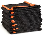 272406 72-inch By 40-inch Heavy Duty Padded Moving Blankets 6-pack