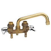 Homewerks Kitchen Utility Laundry Tray Brass Sink Tub Faucet Hose End 2-handle
