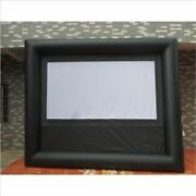 Outdoor Inflatable Screen New Inflatable Movie Screen With Blower 5.24m Gian Gw