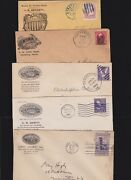 Us Lot Of 5 Aetna Life Insurance Advertising Covers 002