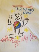 Vintage Grateful Dead T-shirt. Charlotte Apirl Fools And03990. One Time Shirt