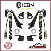 Icon 1.75-4 Front Stage 2 Coilover Conversion System For 07-18 Jeep Wrangler Jk