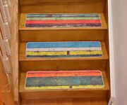 Stair Treads Natural Nature Inspired Slip Resistant Indoor Stair Tread 8 X 30