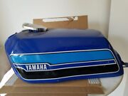 Yamaha Rd400 1976 1977 1978 1979 New Never Used Fuel Tank With Chromed Cap N.o.s