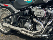 Bassani Road Rage 3 2 Into 1 Chrome Exhaust Pipe M8 Harley Softail Breakout Flfb