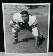 1953 Len Ford, Cleveland Browns, Team Issued Rarity, Vintage 1 Photo, Perfect 10
