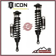 Icon Front Rr Coilover Shocks Cdcv For 08-up Toyota Land Cruiser 200 Series