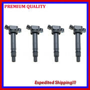 4pc Jsc284 Uf495 Ignition Coil For Scion Lexus Toyota Camry Tacoma Tundra
