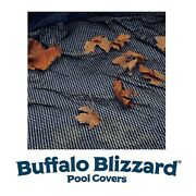 Buffalo Blizzard 21' X 41' Oval Above Ground Swimming Pool Leaf Net Winter Cover