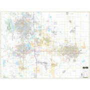 Fort Collins And Greeley, Co Wall Map