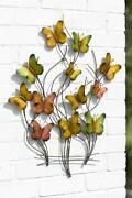 Large Metal Butterfly Wall Art Garden Decoration 3d Outdoor Or Indoor Ornament