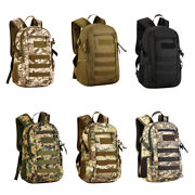 12l Small Daypack Molle Backpack Hiking Pack Bag For Outdoor Camping Travel