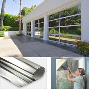 3ft X 24ft One Way Mirror Privacy Reflection Window Tint Film Reduce Heat 5