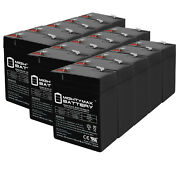 Mighty Max 6v 4.5ah Battery Replaces Cgr Medical Corp 4900 Shampaine - 15 Pack