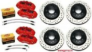 Chevy Corvette 65-82 C2,c3 Direct Bolton 4 Piston Replacement Brakes By Wilwood