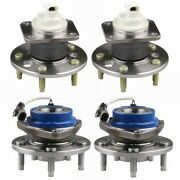 4pcs Wheel Hub Bearings Front And Rear For Buick Chevy Oldsmobile Pontiac