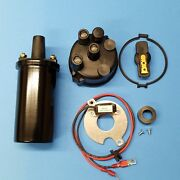 Wisconsin Tjd Electronic Distributor Repair Kit With Coil -- Fits Perlux Only