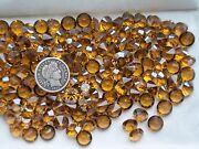 Topaz Satin Unf 39ss - 8mm 1028 Crystal Chatons