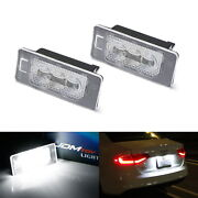 Oem-replace Canbus Led License Plate Light Assy For Audi A3 A4 A5 A6 A7 Q3 Q5 Q7