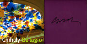 Dale Chihuly Signed Autographed Bellagio Hc Famed Glass Sculptor Le 1st Ed New