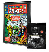 Case Of 25 Max Pro Uv Silver Comic Book Showcases Wall Mountable Display Frame