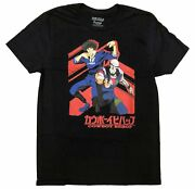 Cowboy Bebop Jet And Spike Space Opera Anime Officially Licensed Adult T-shirt